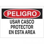 Brady 38914, Use Casco Protector En esta Area Sign