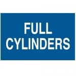 Brady 39693, 10″ x 14″ Fiberglass Full Cylinders Sign