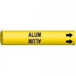 Brady 4004-C, Thru 3.875″ Dia. Plastic Alum Pipe Marker