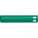 Brady 4011-C, Coiled Plastic Blank Pipe Marker with Arrow