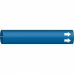 Brady 4013-C, Coiled Plastic Blank Pipe Marker with Arrow