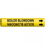 Brady 4015-C, 47433 Coiled Boiler Blow Down Pipe Marker