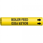Brady 4016-C, 47440 Coiled Boiler Feed Pipe Marker
