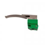 Dynarex 4024, Disposable Laryngoscope Blades, Fiber Optic Mac #0
