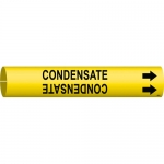 Brady 4035-C, 41661 Plastic Condensate Pipe Marker