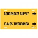 Brady 4038-H, Plastic Condensate Supply Pipe Marker