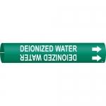 Brady 4046-C, Coiled Plastic Deionozed Water Pipe Marker