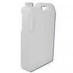 Dynalon 405644, 5-Liter High Density Polyethylene Space Saver Bottle