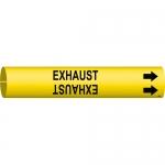 Brady 4057-C, 3.875″ Dia. Plastic Exhaust Pipe Marker