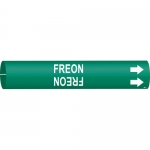 Brady 4061-C, 47680 Coiled Plastic Freon Pipe Marker