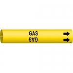 Brady 4067-C, 3.875″ Dia. Coiled Plastic Gas Pipe Marker