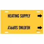 Brady 4071-H, 15″ Dia. Plastic Heating Supply Pipe Marker
