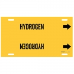 Brady 4086-H, Thru 15″ Dia. Plastic Hydrogen Pipe Marker