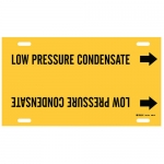 Brady 4091-H, 47818 Low Pressure Condensate Pipe Marker