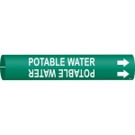 Brady 4111-C, Coiled Plastic Potable Water Pipe Marker