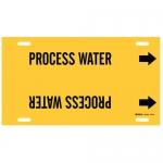 Brady 4112-F, Plastic Process Water Pipe Marker