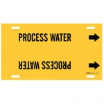 Brady 4112-H, 15″ Dia. Plastic Process Water Pipe Marker