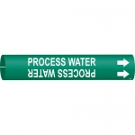 Brady 4113-C, Coiled Plastic Process Water Pipe Marker