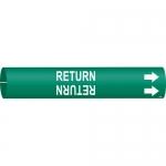 Brady 4120-C, 41674 Return Pipe Marker on Green
