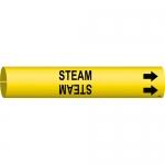 Brady 4129-C, 3.875″ Dia. Coiled Plastic Steam Pipe Marker