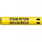Brady 4130-C, 41811 Plastic Steam Return Pipe Marker
