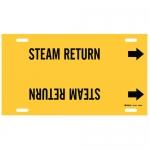 Brady 4130-H, 15″ Dia. Plastic Steam Return Pipe Marker