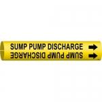 Brady 4137-C, 48632 Sump Pump Discharge Pipe Marker