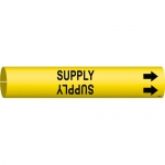Brady 4138-C, Coiled Plastic Supply Pipe Marker