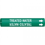 Brady 4145-C, Coiled Plastic Treated Water Pipe Marker