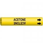 Brady 4157-C, Coiled Plastic Acetone Pipe Marker