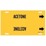 Brady 4157-G, Thru 9.875″ Dia. Plastic Acetone Pipe Marker