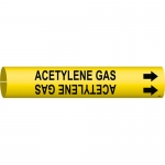 Brady 4158-C, 50664 Coiled Acetylene Gas Pipe Marker