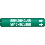 Brady 4167-C, Coiled Plastic Breathing Air Pipe Marker