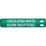 Brady 4170-C, 50959 Plastic Circulating Water Pipe Marker