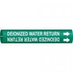 Brady 4172-C, 51168 Deionozed Water Return Pipe Marker