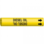 Brady 4174-C, Coiled Plastic Diesel Pipe Marker