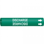Brady 4175-C, 51192 Discharge Pipe Marker on Green