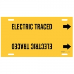 Brady 4179-H, Plastic Electric Traced Pipe Marker