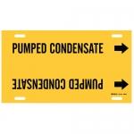 Brady 94956, Strap-On Pipe Marker: Pumped Condensate