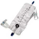 Dynarex 4282, 1000ml Sterile Urinary Leg Bags with Valve, Large