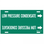 Brady 4343-H, Snap-On Pipe Marker: Low Pressure Condensate