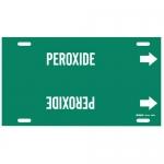 Brady 4352-F, 6″ – 7.875″ Dia. Plastic Snap-On Pipe Marker: Peroxide