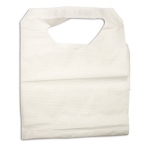 Dynarex 4405, 16in x 33in Paper/Poly Lap Bibs with Ties