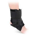 Advanced Orthopaedics 467, Canvas Lace-Up Ankle Brace, Large