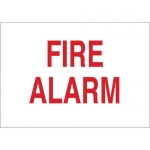 Brady 43283, 7″ x 10″ Aluminum Fire Alarm Sign