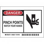 Brady 49829, Polyester Alert Sign