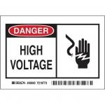 Brady 49840, 3.5″ x 5″ Polyester Alert Sign