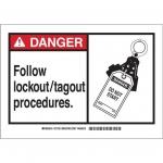 Brady 49847, Polyester Alert Sign
