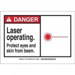 Brady 49924, Polyester Alert Sign