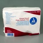 Dynarex 5004, Closed Circuit Foley Catheter Tray, Sterile, 12 FR